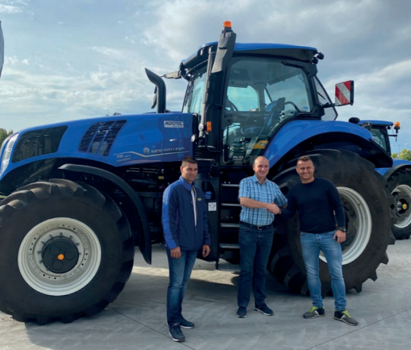 A New Holland T8 Genesis itthon is bizonyít!
